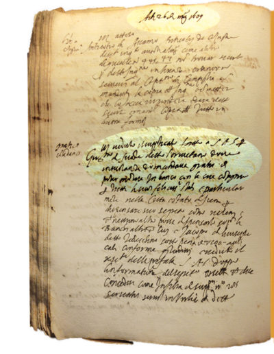 1609, 26 maggio - Firenze