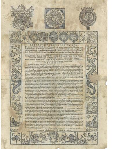 1647, 9 aprile – Parigi