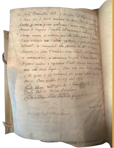 1654, 25 gennaio - Roma