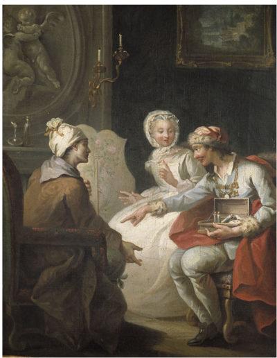 Le Marchand  d'Orvietan - 1743