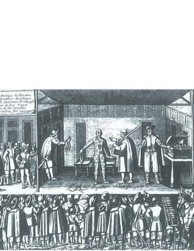 Teatro e bottega dell'Orvietano - 1620